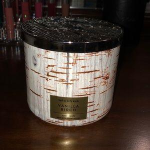 Vanilla Birch candle
